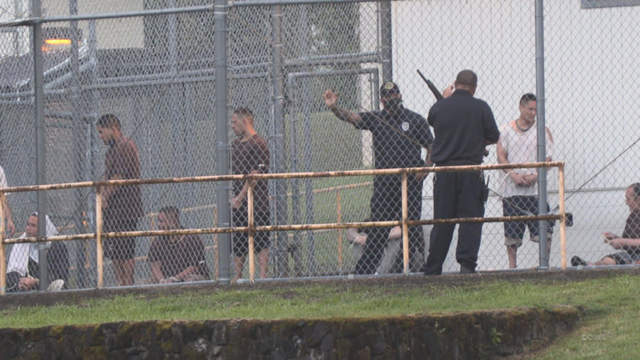 HCCC Inmates Rounded Up After Riot