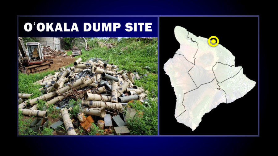Dump Site In Oʻokala Includes Discarded Military Waste