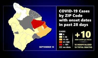 Hawaiʻi COVID-19 Friday Update: 10 New Cases, 2 More Deaths