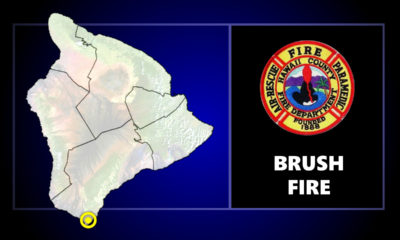 Large Brushfire Reported Near South Point