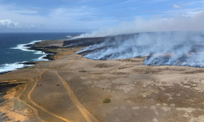Firefighters Battle 3,500-acre Brushfire In Kaʻu