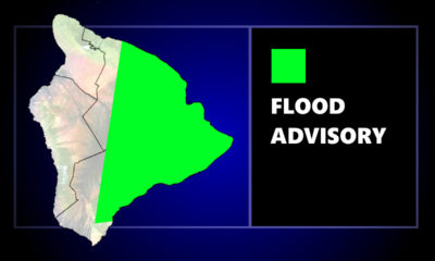 Flood Advisory Issued For East Hawaiʻi On Wednesday Evening