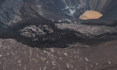 New Views Of Kilauea Volcano Summit Water Lake