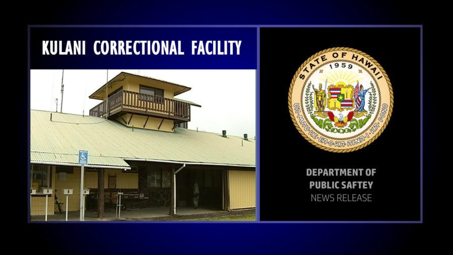 All Kulani Inmate COVID Tests Return Negative