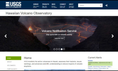 VOLCANO WATCH: USGS HVO Launches Revamped Website