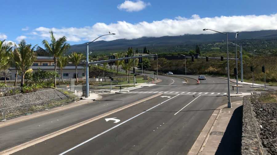 Kona: Henry Street Traffic Signal Activates In October