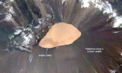 New Map Of Kilauea Volcano Summit Water Lake Released
