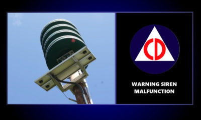Malfunctioning Warning Siren Reported In Puna