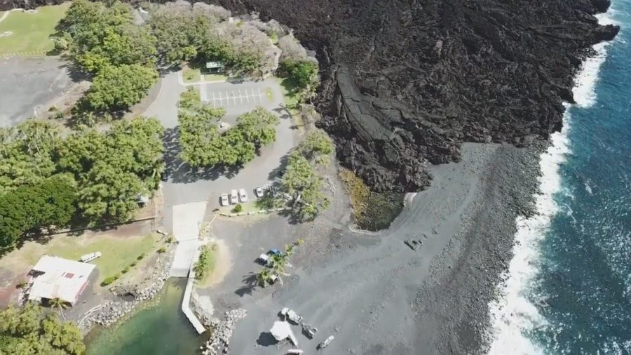 FEMA: $1.5 Million For Isaac Hale Beach Park Repairs Following 2018 Eruption