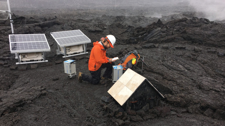 Scientists Measure Gravity At Kilauea To Track Changes Beneath Volcano