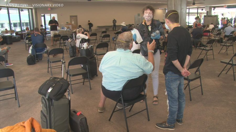 VIDEO: Visitors To Kona Tested On Arrival As Tourists Return To Hawaiʻi