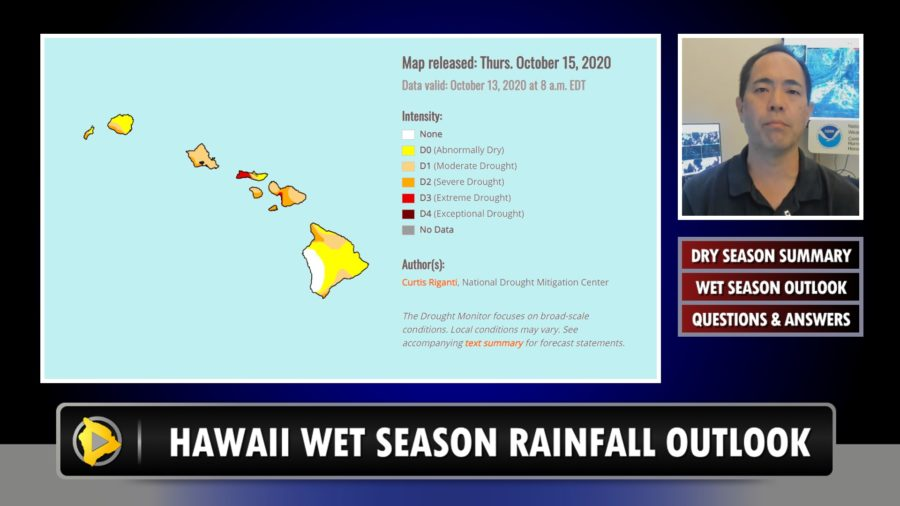 VIDEO: Hawaiʻi Wet Season Outlook, La Niña Forecast