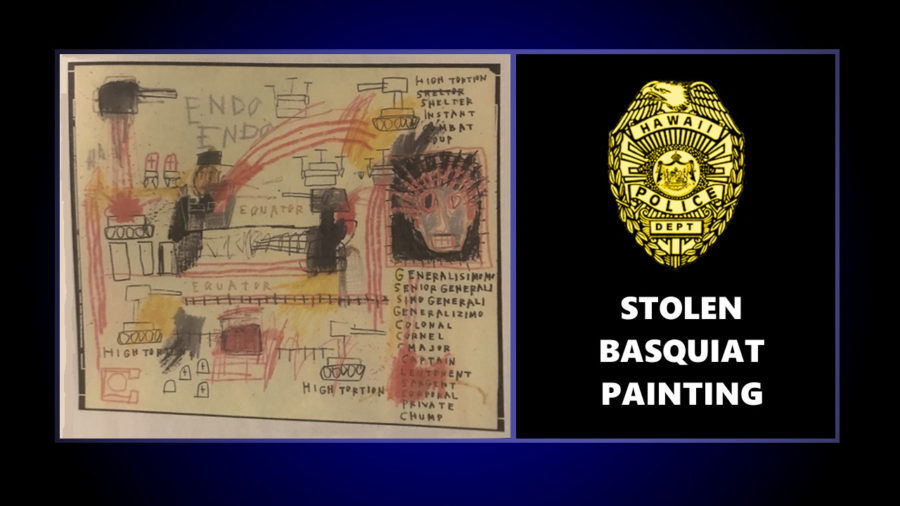Basquiat Painting, Jewelry Stolen From Kurtistown Home