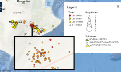 Kilauea Earthquake Swarm Prompts USGS Statement