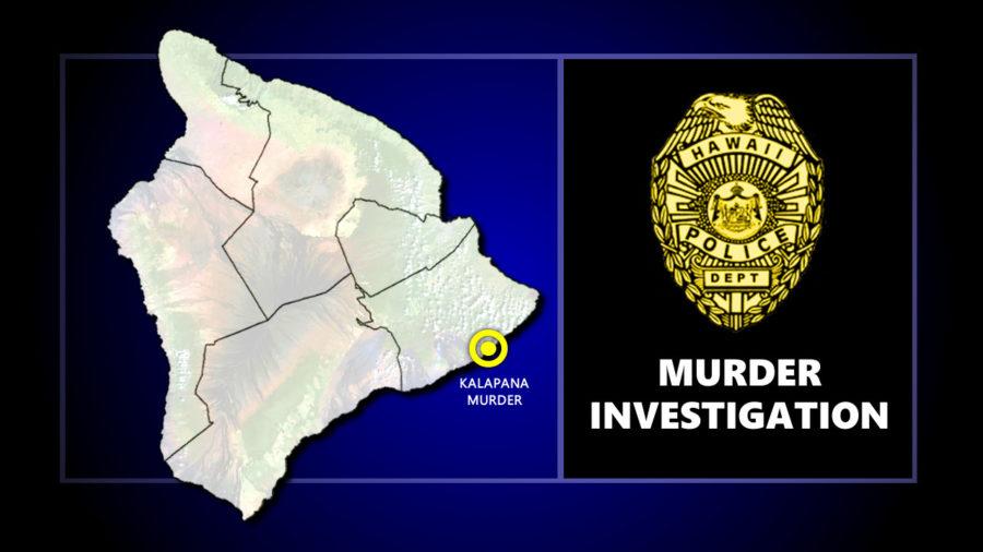 Police Investigate Kalapana Murder
