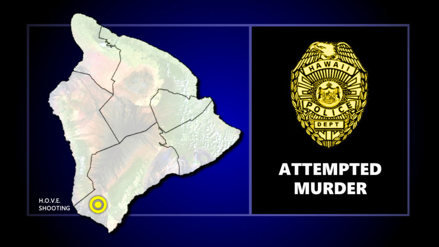 Attempted Murder Investigated In Hawaiian Ocean View Estates