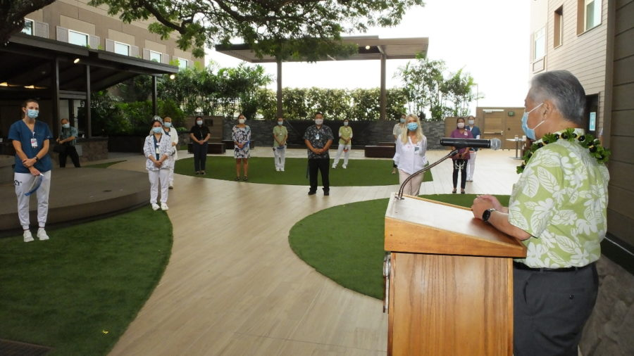 Out-Of-State Healthcare Workers Welcomed To Hawaiʻi