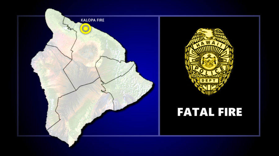 Fatal Structure Fire In Kalopa Mauka