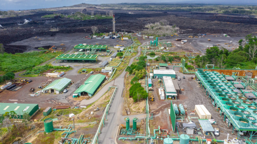 Puna Geothermal Venture Goes Back Online