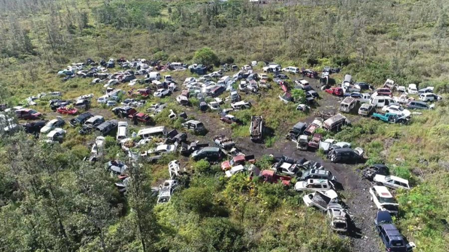 382 Abandoned Vehicles Removed From Hawaiian Homestead In Puna
