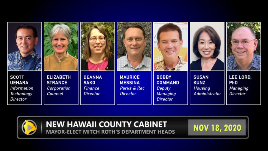 Mayor-Elect Roth Announces Cabinet Members