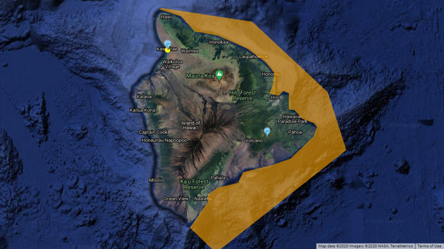 Brown Water Advisory Posted For East Hawaiʻi Shores
