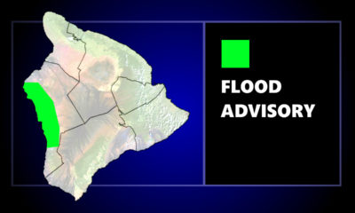Flood Advisory Issued For Kona Area