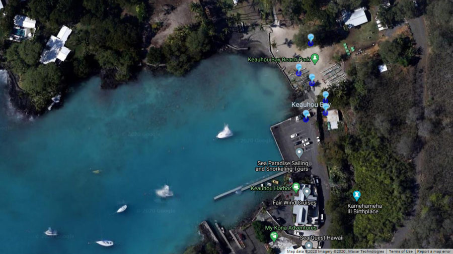 High Bacteria Count Advisory For Keauhou Bay