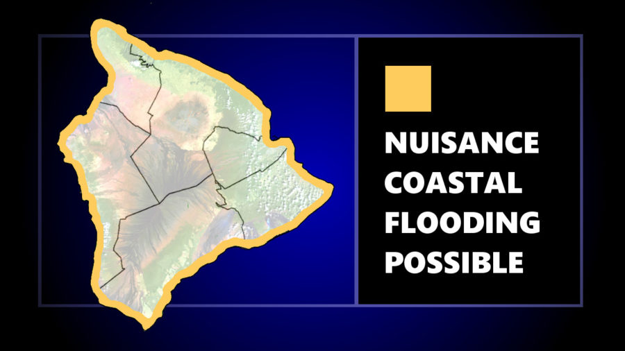 Forecast High Surf Could Compound Nuisance Coastal Flooding