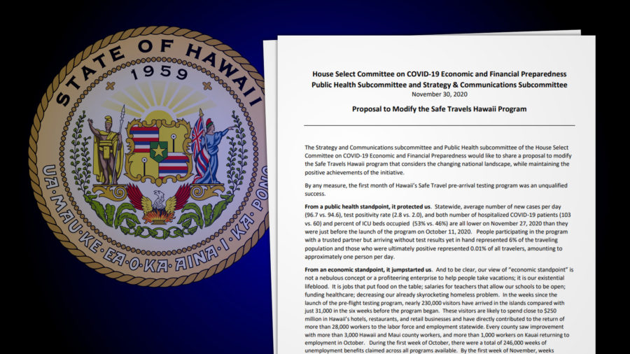 House Committee Proposes To Modify Safe Travels Hawaiʻi Program