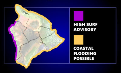 High Surf Advisory For West Hawaiʻi