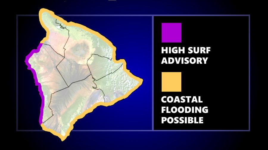High Surf Advisory For West Hawaiʻi