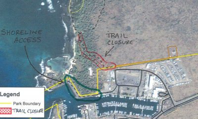 Kaloko-Honokohau Park Trail, Area Closure On Dec. 4
