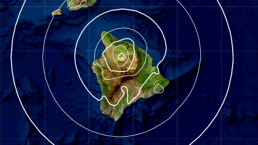 Magnitude 4.4 Earthquake Near Waimea On Hawaii Island