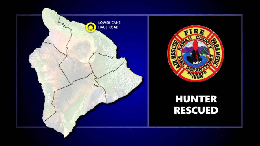 Hunter Rescued After Fall, Caught On Tree Before Plummet