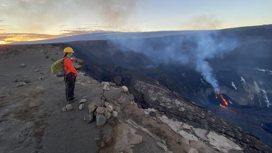 VIDEO: Kilauea Volcano Sunday Evening Eruption Update