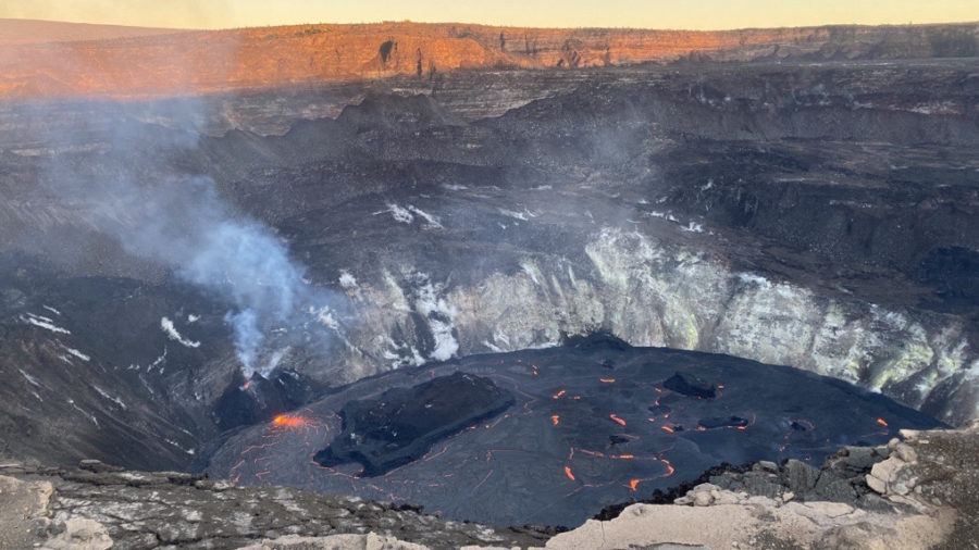 Kilauea Eruption Update For Tuesday, Jan. 5