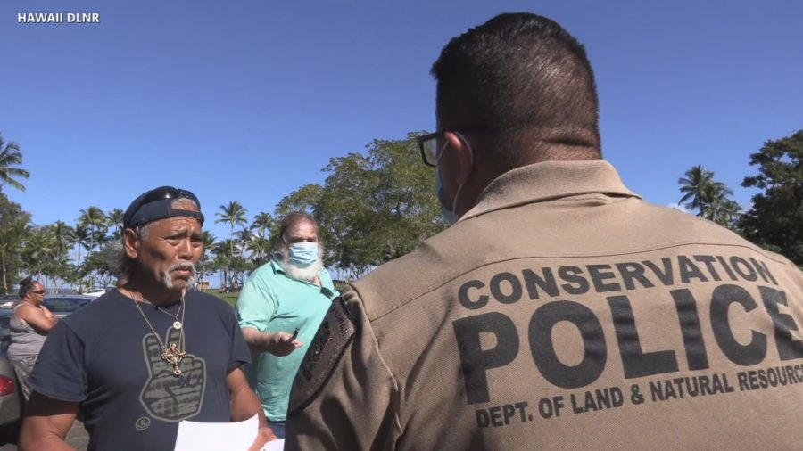 VIDEO: Resurrected Kanaka Garden Ordered To Stop