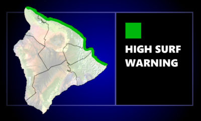 High Surf Warning Closes Some Beaches In Hilo