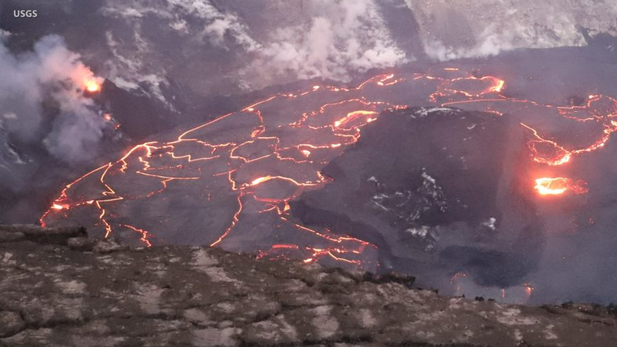 VIDEO: Kilauea Eruption Update, Volcano Summit Overflight
