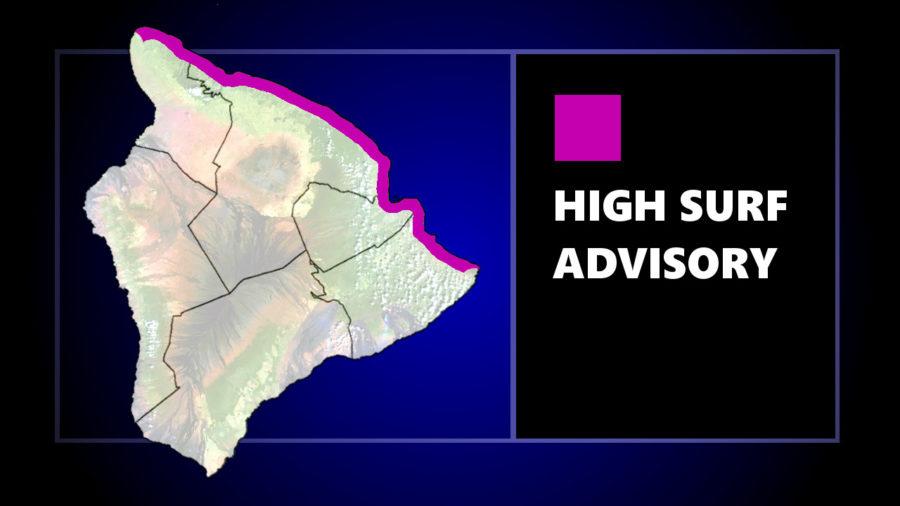 High Surf Advisory, Marine Weather Statement For Hawaii