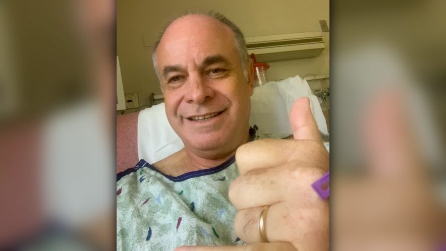 "Mayor Roth Takes Selfie From Hospital, Is ""On The Mend"""