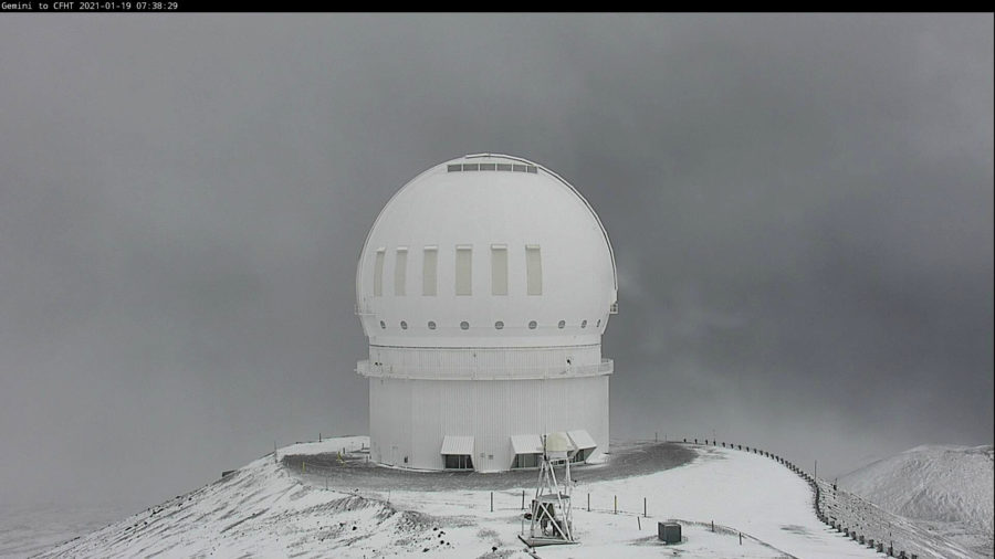 Winter Weather Advisory Remains For Hawaiʻi Island Summits
