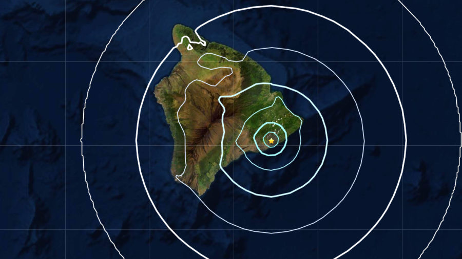 Magnitude 4.1 Earthquake Jolts Lower Puna
