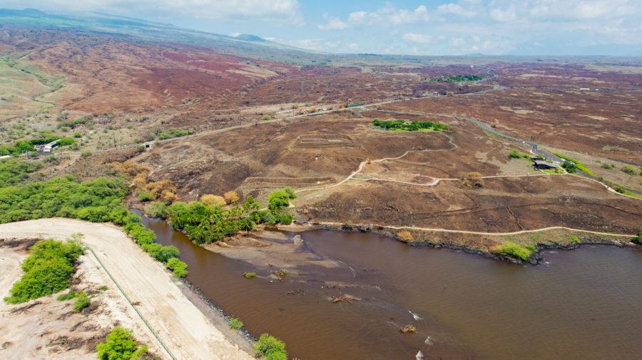 Pelekāne Watershed Improvements Completed