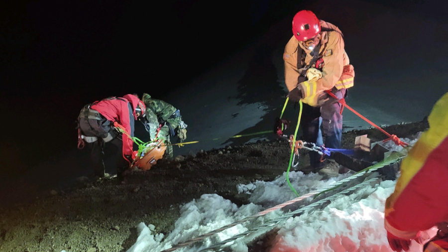 Another Rescue On Mauna Kea Summit