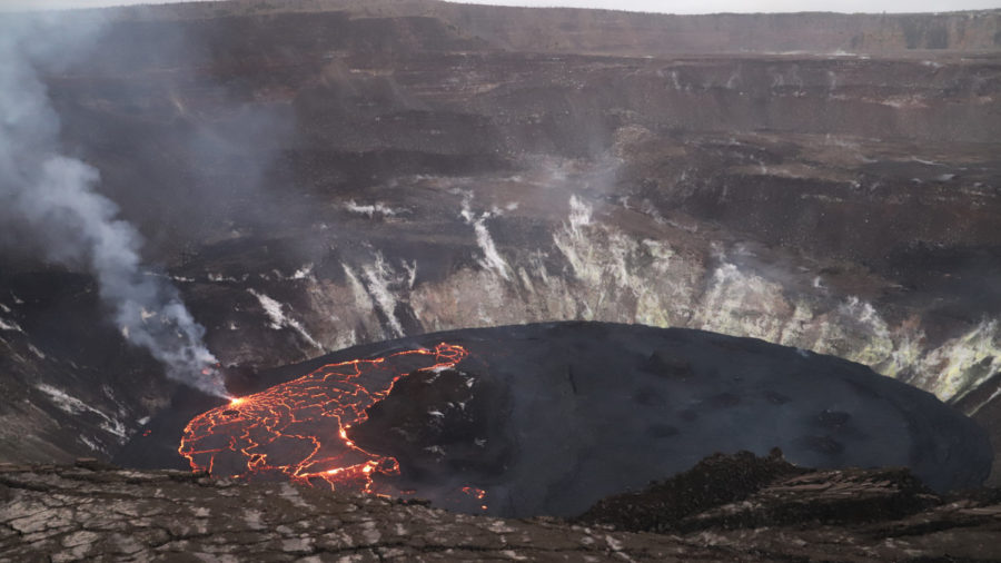 Kilauea Eruption Update for Saturday, Feb. 13