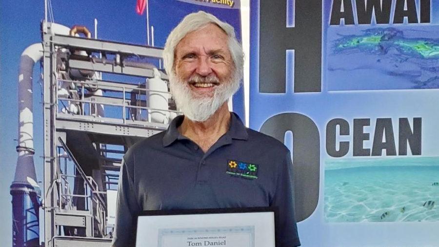 Kona Man Honored For Contributions Toward OTEC