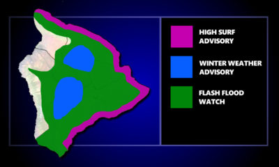 Weather Alerts In Place For Hawaiʻi Island