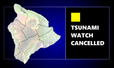 Tsunami Watch For Hawaiʻi Cancelled, Beaches To Close